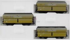 """Märklin HO 46247 Wagenset """"Großbaustelle"""" - 3 Schüttgutwagen  Neu"""