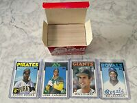 1986 Topps Traded Baseball Set Bonds Canseco Clark Jackson RC Rookie