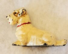 Antique Iron Hubley Sealyham Terrier Hubley Paperweight Dog