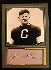 Jim Thorpe D.Gordon ACEO Promo Cards Canton Bulldogs
