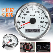 Waterproof Digital Stainless GPS Speedometer Auto Car Truck Gauge 200Km/H 85mm