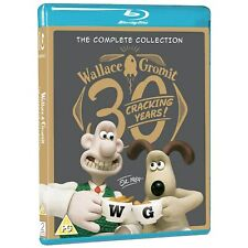 Wallace And Gromit The Complete Collection Blu-Ray with slipcover New Free Ship