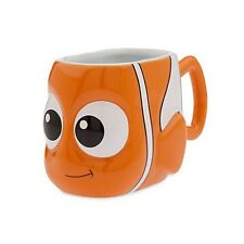 NEW DISNEY STORE FINDING DORY NEMO 3D SCULPTED COFFEE MUG PIXAR CUP CERAMIC CUP