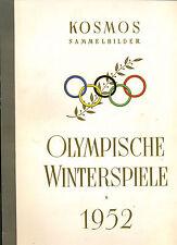 Olympische Winterspiele -- 1952 --Sammelbildalbum--Kosmos -Komplett -TOP -