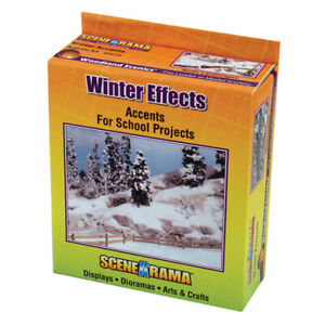 Woodland Scenics Scene-A-Rama Snow Kit