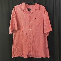 MENS POLO RALPH LAUREN PLAID CHECKS PONY LOGO S/S BUTTON DOWN SHIRT LArge