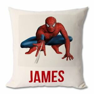 Spiderman personalised cushion cover