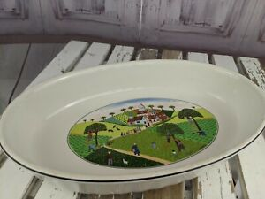 Villeroy Boch dish vilbofour country casserole home scene naif oval oven bake