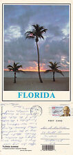 1990's SUNRISE IN FLORIDA UNITED STATES COLOUR POSTCARD