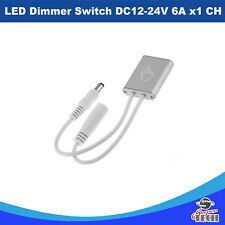LED Dimmer Switch DC12-24V 6A x1 CH