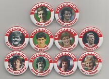 LIVERPOOL  FC LEGENDS  MAGNETS  X 10  SET 6