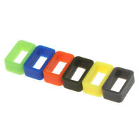 10pcs Silicone Rubber Watch Band Strap Holder Keeper Loop Locker Retainer 24mm