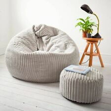 Jumbo Cord Classic Slouchbag™ Bean Bag - Large Comfort Soft, Ultimate Body Mould