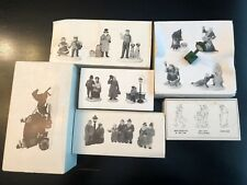 Dept 56 Heritage Village Accessories Set of 6 Boxes Christmas Carol Dover Coach