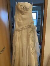 Hochzeit Brautkleid Gr38 Champagner