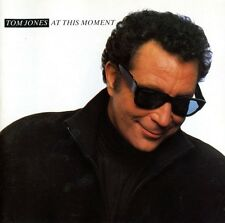 TOM JONES : AT THIS MOMENT CD (JIVE 1989)