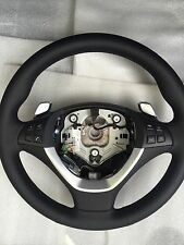 BMW X5 X6 E70 E71 Steering wheel NEW leather OEM Gear shift vibrating