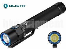 OLIGHT S2A Baton Cree XM-L2 CW Cool White 2x AA Flashlight Black