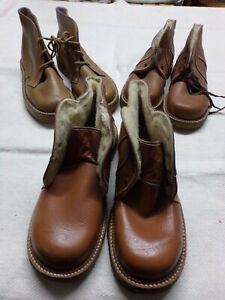 Set Of 3 Pairs Shoes Garçon (Period Early Year Vintage)