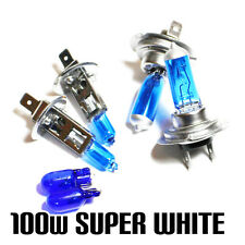 Seat Leon 1M1 1.9 100w Super White Xenon HID Main/Dip/Side Light Beam Bulbs Kit