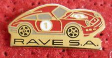 RARE BEAU PIN'S PORSCHE 911 CARRERA RAVE S.A.