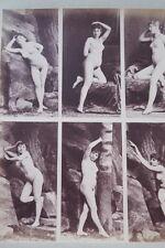 CALAVAS ETUDE DE NUS  TIRAGE ALBUMINE ALBUMEN VINTAGE PRINT 1880 PEINTURE ref5