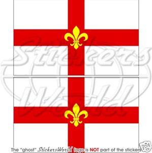 Città di LINCOLN Bandiera, Lincolnshire LINCS Adesivi per Auto Sticker