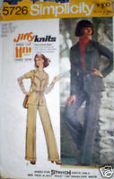 Vintage Simplicity Pattern Unlined Jacket Pants 10 SEW