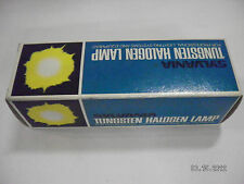NEW IN BOX Sylvania Tungsten Halogen Lamp 375 Watts 30 Volts FGF Avg. 50 Hrs
