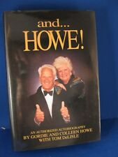 Gordie and Colleen Howe Autographed Book w/Coa
