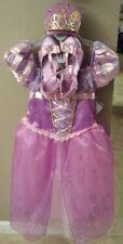 3 pc Disney Store Singing Rapunzel Costume 7/8 Tangled Dress Shoes Sz 13/1 Tiara