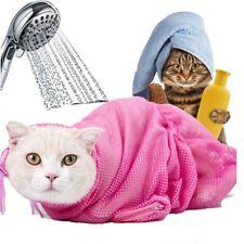 Mesh Cat Grooming Bathing Bag Cat Washing Bath Bag Restraint Cat Grooming Bag Us