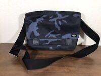 Jack Spade Blue Camo Messenger Bag Orange Inside Great Condition