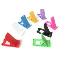 CG_ CO_ Mini Portable Plastic Universal Mobile Phone Holder Desktop Table Stand
