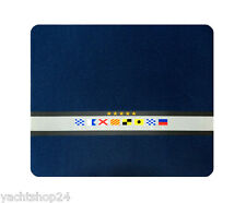Mauspad aus Neopren mit Signalflaggen Motiv - maritime Geschenkidee - Mouse Pad