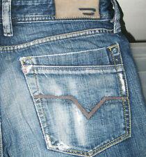 *100%AUTHENTIC DIESEL @ LEMMEN Art 87J RELAXED STRAIGHT LEG DARK Jeans 30 x 34