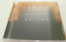 Editors - An End Has A Start (CD Album 2007) Used very good