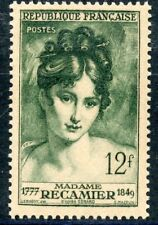TIMBRE FRANCE  N° 875 * MADAME RECAMIER