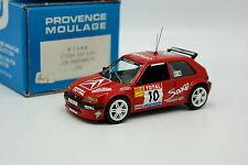 Provence Moulage 1/43 - Citroen Saxo Kit Car Night Rallye Lyon Charbonnières 98