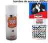 Arexons Bombe Spay  Pro Haute Température 800° Vernis Transparent 400 ml