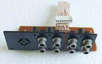 PCB IN/OUT en RCA et DIN pour ampli hifi TEAC BX-550.Pièce détachée/DIY.