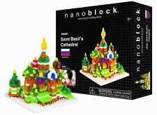 Saint Basil's Cathedral Nanoblock Micro Sized Building Blocks Construction Toy