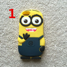 3D Despicable Me Minions Soft Silicone Case Cover iPhone5 5s