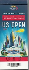 2014 US OPEN TENNIS FULL TICKET STUB BOOK UNUSED SERENA WILLIAMS NISHIKORI CILIC