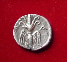 Olympia, Elis. AR Drachm,  245-210 BC. Eagle, Ornate thunderbolt
