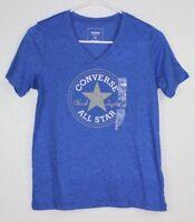 Converse All Star Chuck Taylor Classic Fit Womens T-Shirt Sz XS Short Sleeve NEW