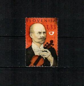 SLOVENIA Scott's 891a Johann Gerstner, Violinist F/VF used S/S single ( 2011 )