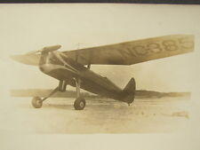 Antique Vintage 8 x 10 Photograph Propeller Airplane Aviation Photo NC-385