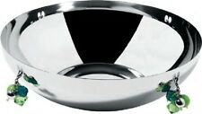 Alessi Ba Rock Round Bowl Stainless Steel AMSA 25 BNIB