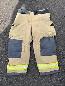 Globe Firefighter Suits GXTREME Fire Turnout Gear Pants 42x30 - Good Condition